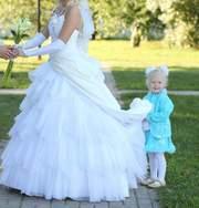 Продам безумно красивое свадебное платье-трансформер Papilio модель Хр